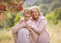 mother and daughter older generation