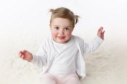 dancing 12 month girl