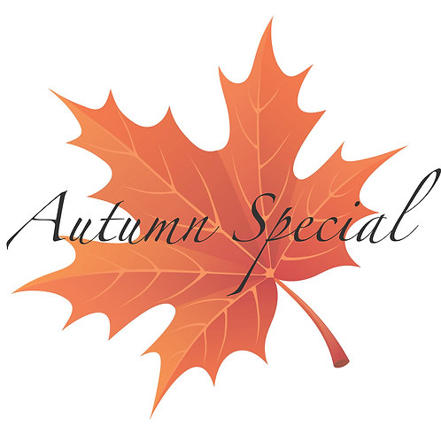 Autumn Special! Outdoor Session 90 min | 6 Photo Digital/Print Package + GIFT!