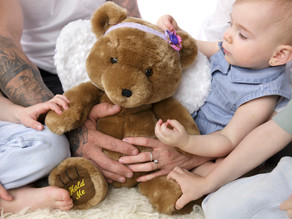 Angel Teddy with special meaning