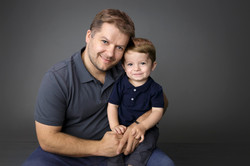 dad and young son