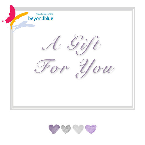 Supporting Beyond Blue ~ Photography Gift Voucher donation