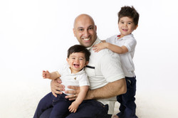 father with sons