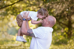Fun Dad and Son Professional Photos