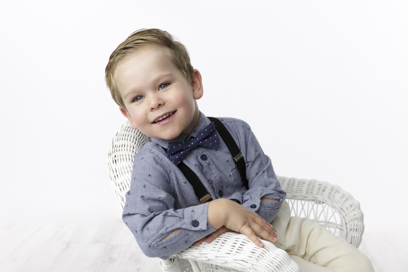 3 year old boy portrait