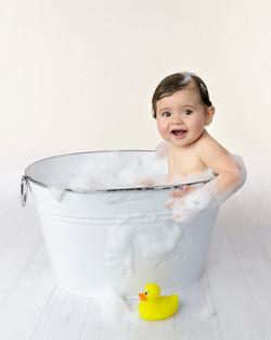 Bath time fun photos