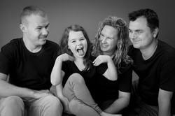 fun family portrait