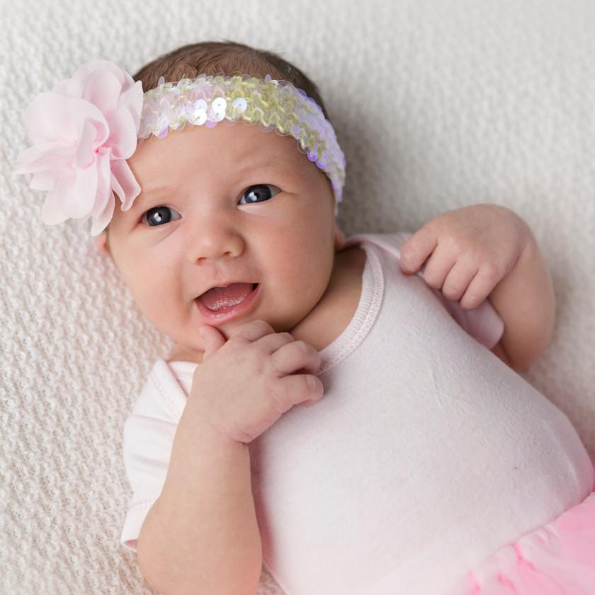 ballet theme newborn photos