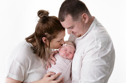 Natural Family Newborn Photos