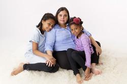 mum and daughters
