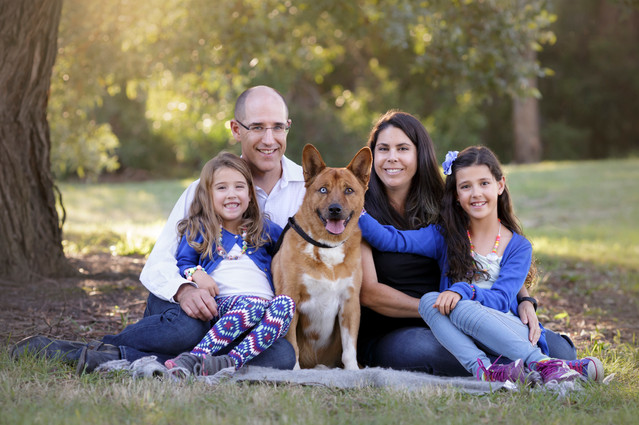 Outdoor family photographer Melbourne