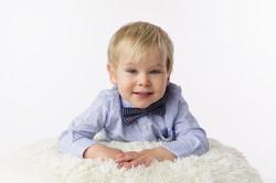 2 year old boy portrait