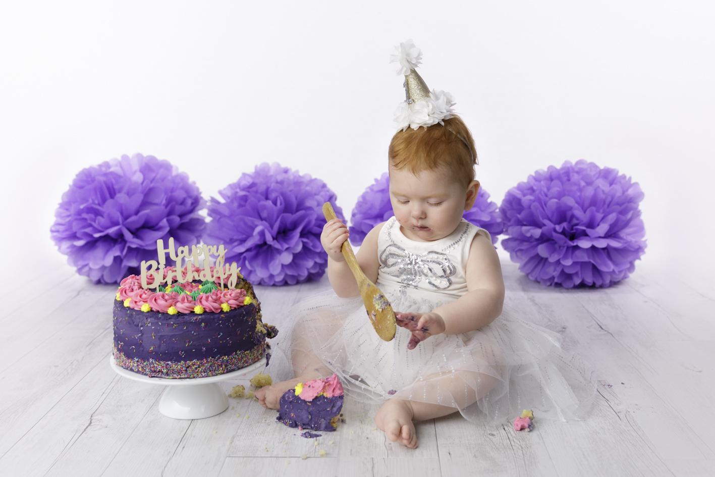 1 year old cake smash