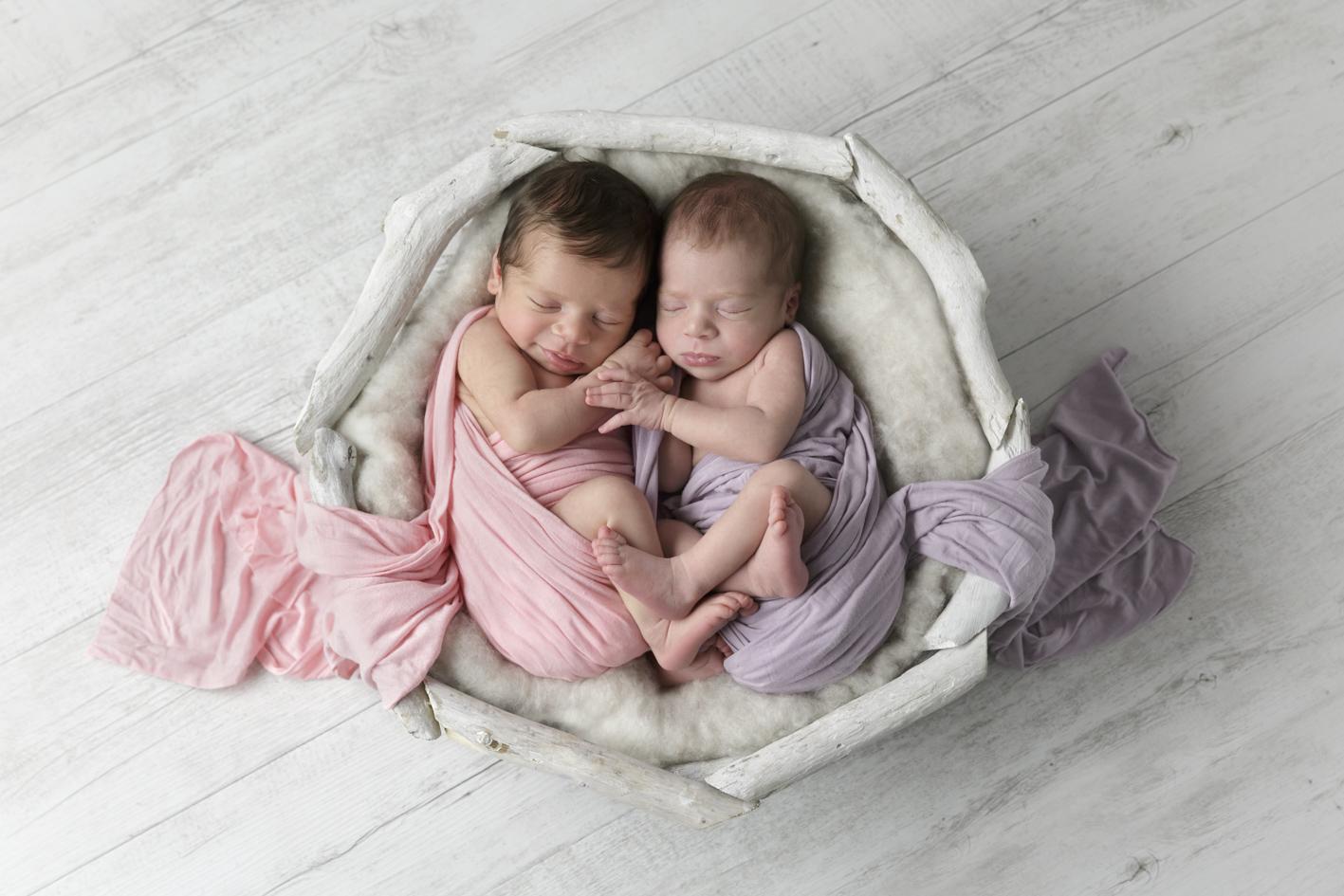 newborn twins photographer Ferntree Gully