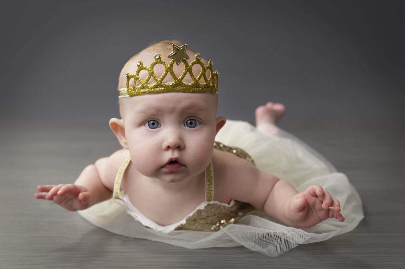 3 month baby ballerina