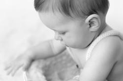 detail baby portrait