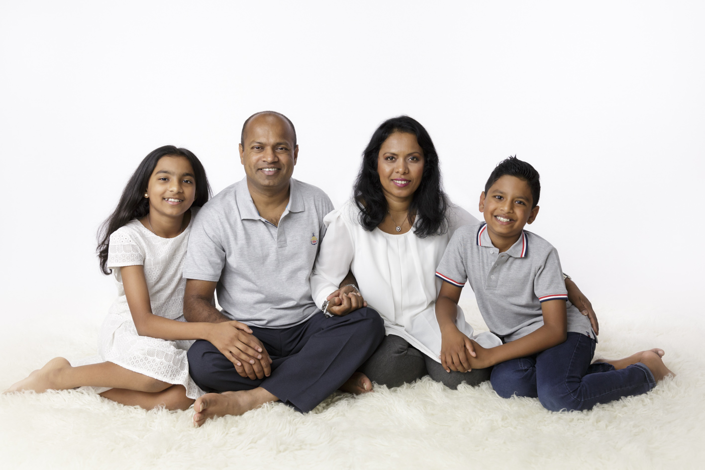 stunning family photo