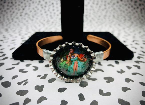 BLACK EMPRESS bottle cap copper bracelet