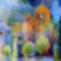 Enchanted Painting by Karen Gillis Taylor