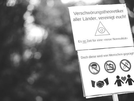 """Teorías de la conspiración y noticias falsas en Alemania: entre el coronavirus y el """"ayer dorado"""""""