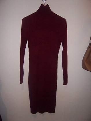 Robe maille Bordeaux