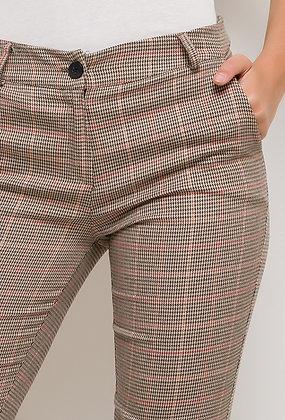 Pantalon à carreaux Camel