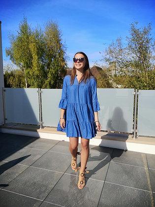Robe ample effet jean