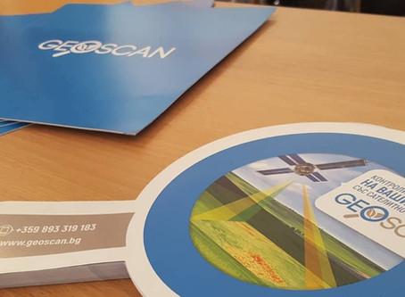 TechnoFarm и GeoSCAN на Webit 2018 в София