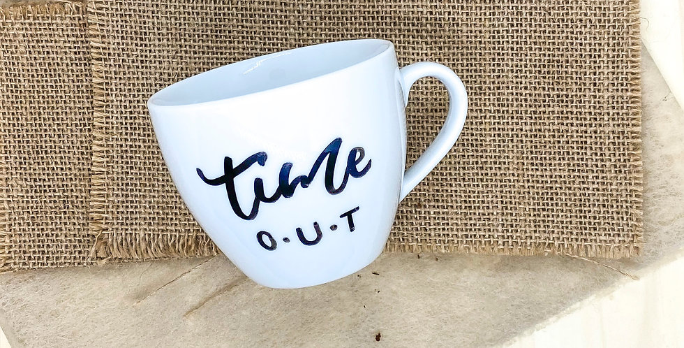 Tasse M «time out»