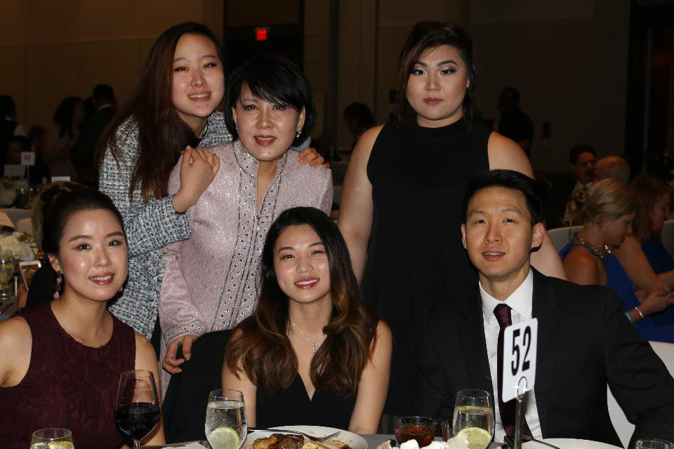 Esther Chong and her family