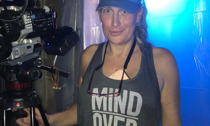 Dark Lights - Director and her Baby