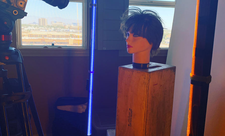 Dark Lights - Mannequin Stand-In