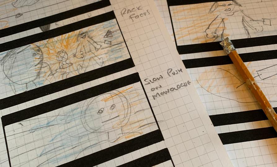 Dark Lights - Storyboards