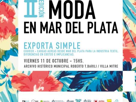 EXPORTA SIMPLE - II Edición MODA EN MAR DEL PLATA -