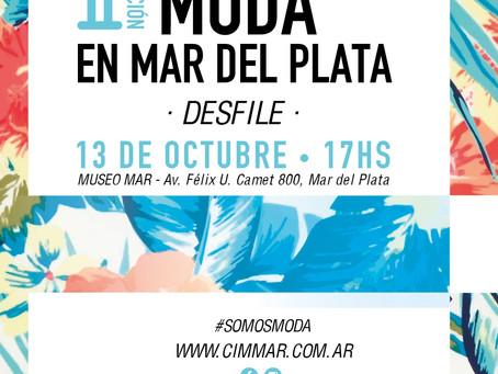 13 DE OCTUBRE -  DESFILE  MODA EN MAR DEL PLATA - II EDICIÓN