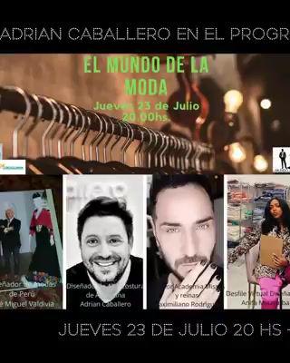 Participación en el programa El Mundo de la Moda - Uruguay