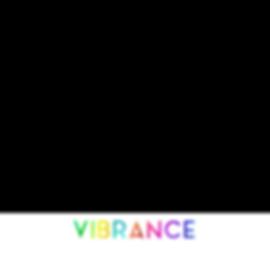 Vibrance Text Layer Transparent BG for L