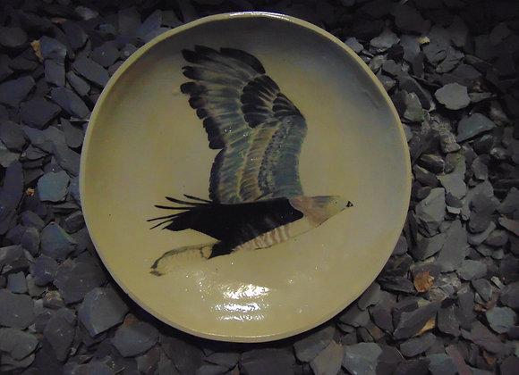 Large Stoneware Bowl - Honey Buzzard