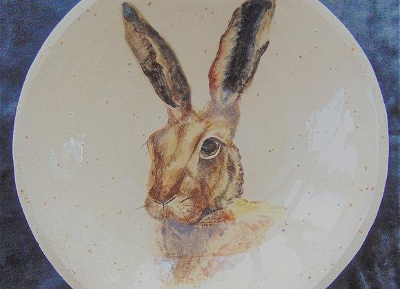 Small Stoneware Bowl - Hare