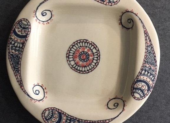Multicoloured Mehndi Style Bowls
