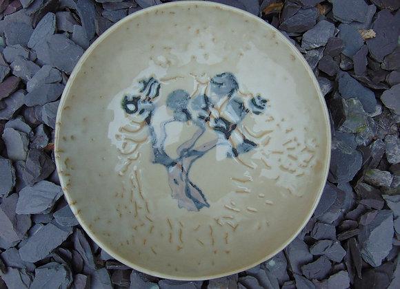 Small Stoneware Bowl - Olive Tree