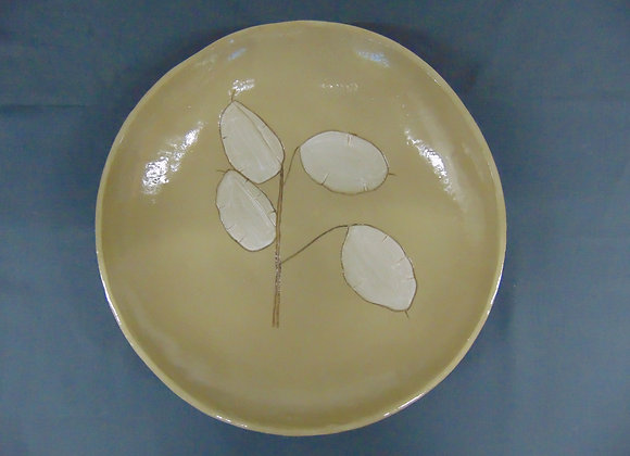 Large stoneware bowl - Honesty
