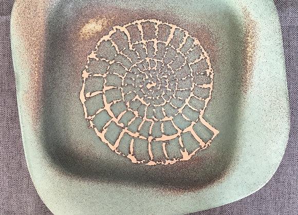 Square Ammonite Detail Bowl