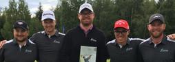Vi gratulerer laget fra Stiklestad Golfklubb med seieren !