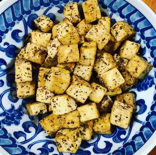 Salt 'n pepper tofu