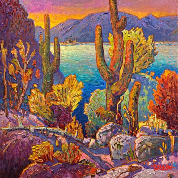 Apache Lake View