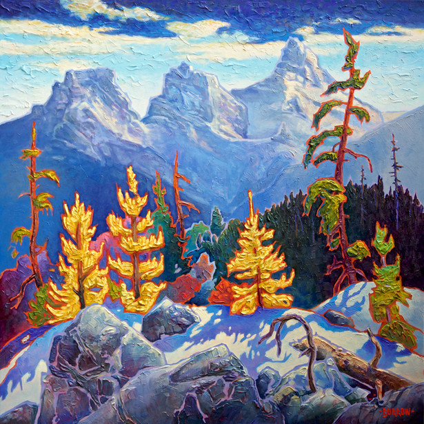 """""""Among The Larch"""""""