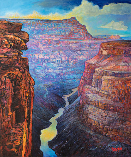 Southwest Landscape Paintings Burrowfineart