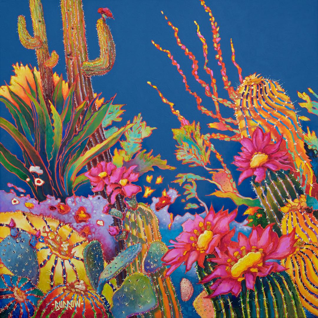 """""""Blue Cactus"""""""