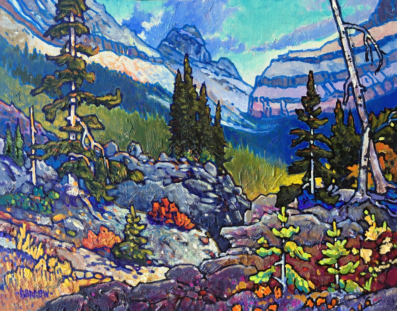"""Icefield Canyon"""